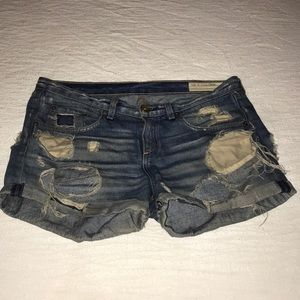 Rag & Bone Distressed Boyfriend Shorts size 26